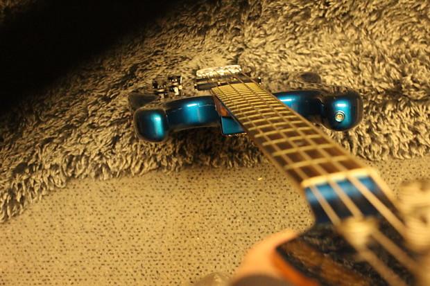 Rare 1983 Japan Kramer Focus 7000 Bass, Metallic Teal Blue, | Reverb