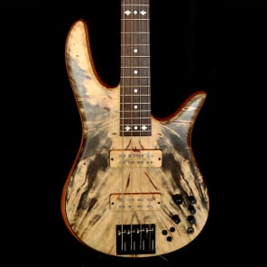Fodera Monarch Deluxe 4-string 2011 Buckeye Burl for sale