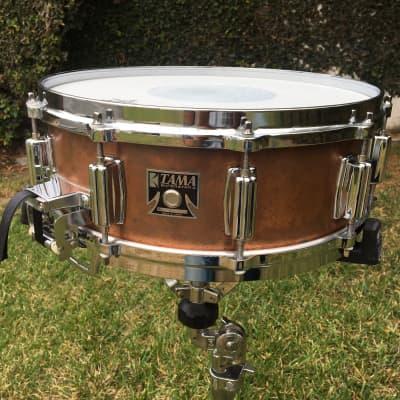 "Tama BB-155 Mastercraft 5x14"" Bell Brass Snare Drum 1980"
