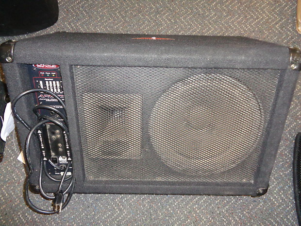Used Crate Pro Audio APM 75 Powered Floor Monitor