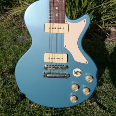 Brian Monty 2015 Bluesbaby, Pelham Blue, P90 killer for sale