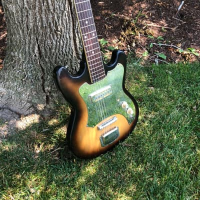 Audition Electric guitar/ Gold foil pick up 1960s for sale