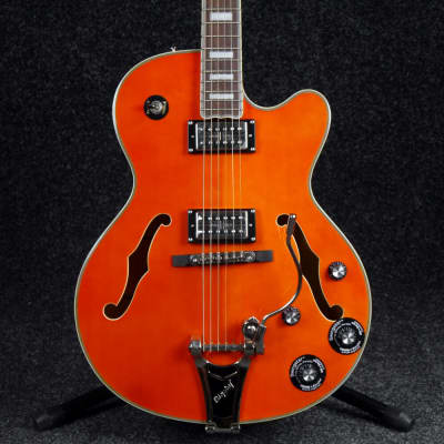Epiphone Emperor Swingster Electric Guitar - Orange - Ex Demo for sale