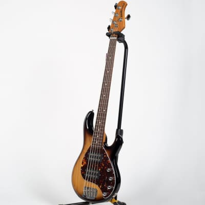Ernie Ball Music Man StingRay Special 5 HH Bass Guitar - Burnt Ends for sale