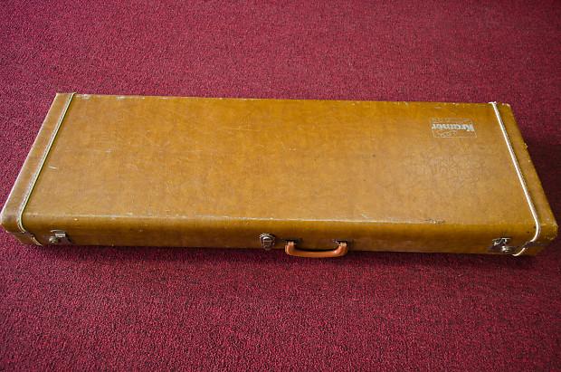 vintage 70s 80s kramer hard shell case for aluminum neck reverb. Black Bedroom Furniture Sets. Home Design Ideas