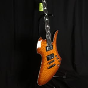 B.C. Rich MK5-MB-AMB Mockingbird Amber Burst