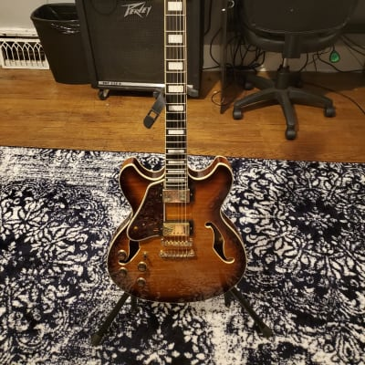 Ibanez AS93FML Artcore Expressionist Semi-Hollow Left Handed WITH Gator Hardshell Case