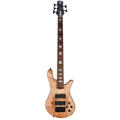 Spector USA NS5H2M - Spalted Maple Top -  8.6 pounds - #1227 - All offers considered, don't be shy!