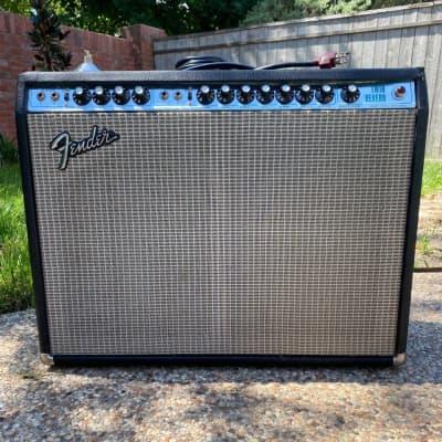 """Fender Twin Reverb 2-Channel 100-Watt 2x12"""" Guitar Combo 1974"""