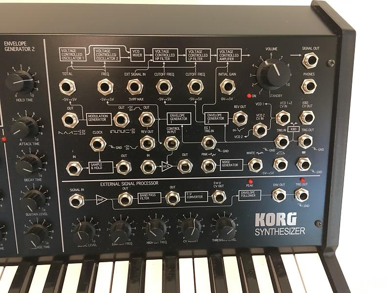 Korg MS-20 Full-Size Black From Kit