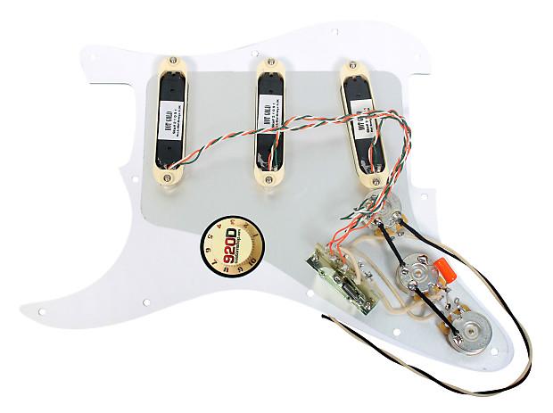 lace sensor gold loaded strat pickguard white pearl aged reverb. Black Bedroom Furniture Sets. Home Design Ideas