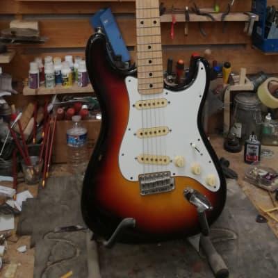 Cimar Stratocaster 1976 Sunburst for sale