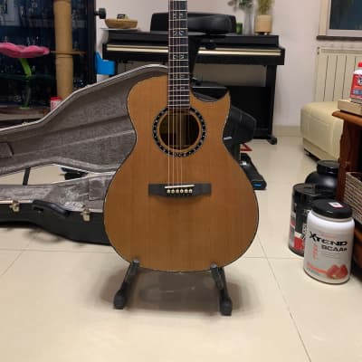 Lakewood M-24 Custom Deluxe AAA Cedar and Claro Walnut for sale