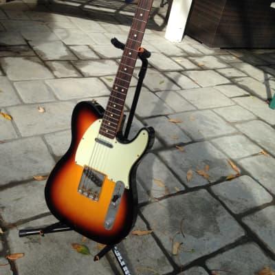 Fender Custom Shop '63 Reissue Telecaster Relic 2009 Sunburst for sale