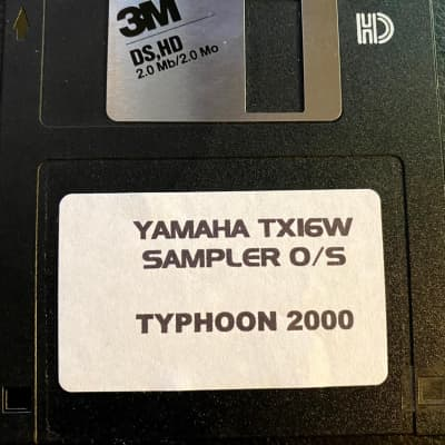 Yamaha TX16W Typhoon 2000 Operating System Boot Disk