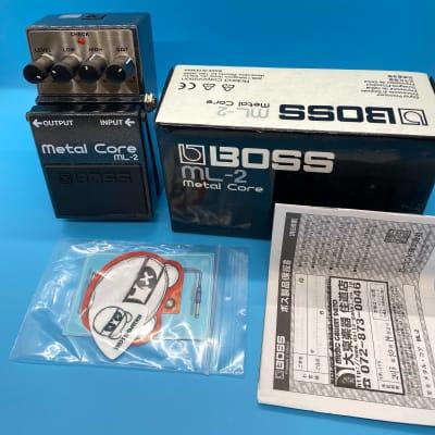 Boss ML-2 Metal Core Distortion Pedal w/Original Box   Fast Shipping!