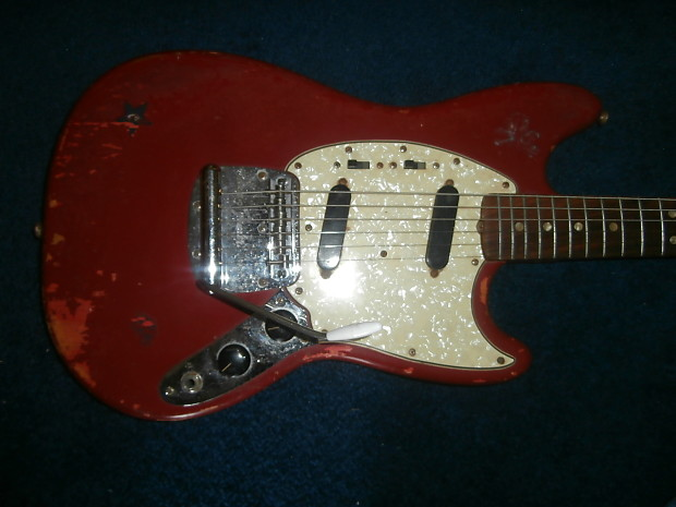 vintage 1967 fender mustang electric guitar reverb. Black Bedroom Furniture Sets. Home Design Ideas