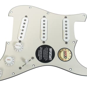 920D Custom Shop 162-15-10-EC Fender Clapton Vintage Noiseless Loaded Prewired Strat Pickguard