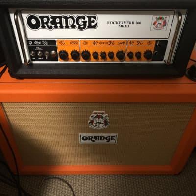 Orange Rockerverb 100 Head MK III 2019 Black