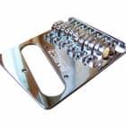Babicz Full Contact Hardware FCHTELECH Telecaster/Tele Guitar Bridge - CHROME image