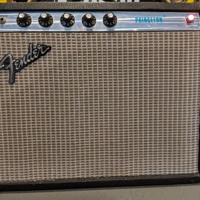 Fender Princeton 1976 with CTS Alnico Speaker, Original Owners Manual and Schematic for sale