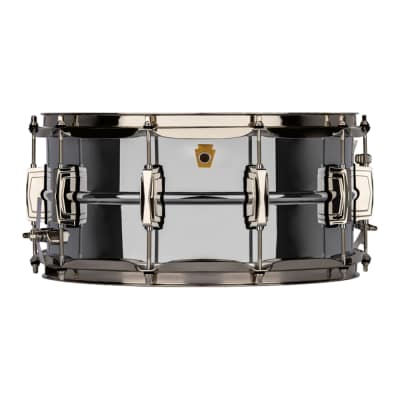 "Ludwig LB402BN Super Ludwig Reissue 6.5x14"" Chrome Over Brass Snare Drum"