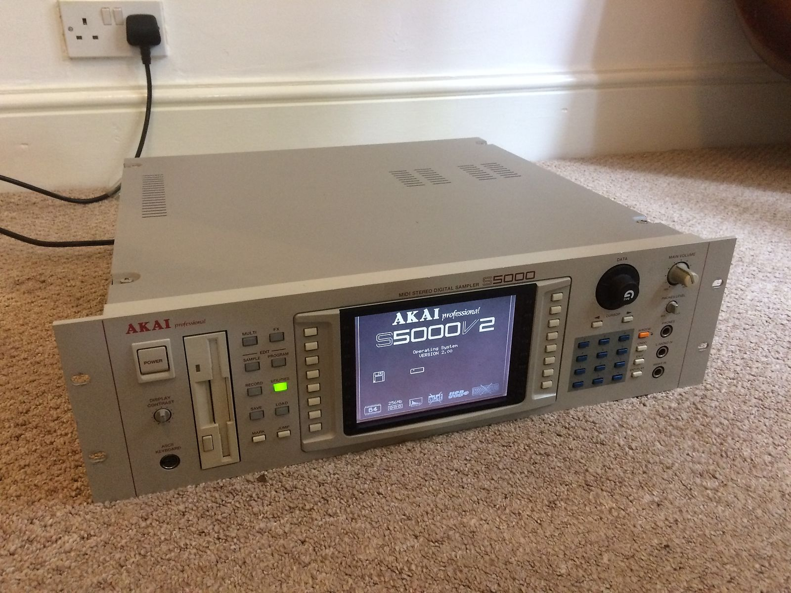 AKAI Z48 MIDI STEREO DIGITAL SAMPLER DRIVERS FOR PC