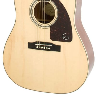 Epiphone AJ-220CE Acoustic/Electric Guitar, Natural Finish, Model EE2SNANH1 for sale