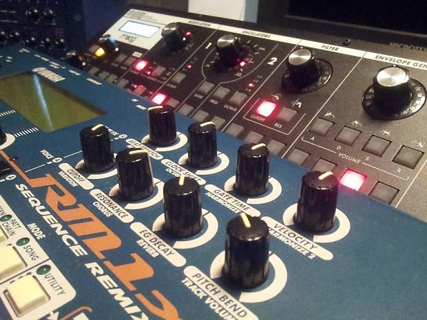 yamaha rm1x groove box drum machine 16 track midi sequencer reverb. Black Bedroom Furniture Sets. Home Design Ideas