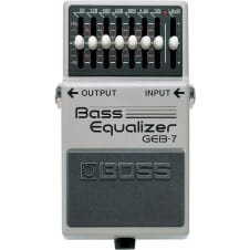 Boss GEB-7 Seven-Band Bass Graphic Equalizer Pedal