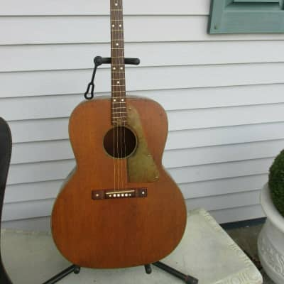 Vintage Orpheum Tenor Acoustic Guitar For Parts or Repair for sale
