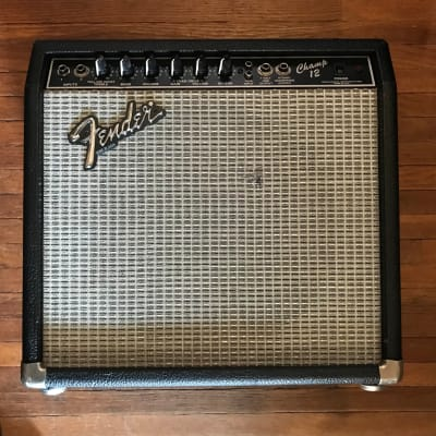 Fender Vintage 1986 Fender Champ 12 Tube Amp with Reverb One Owner with Original Foot Pedal for sale