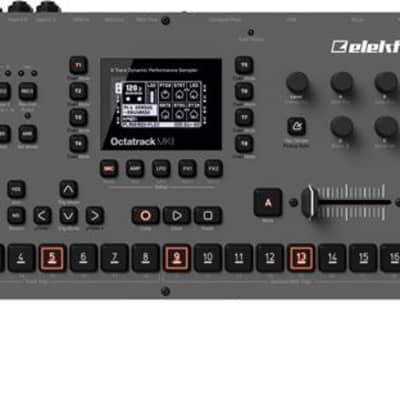 Elektron Octatrack MKII Desktop Sampler Sequencer