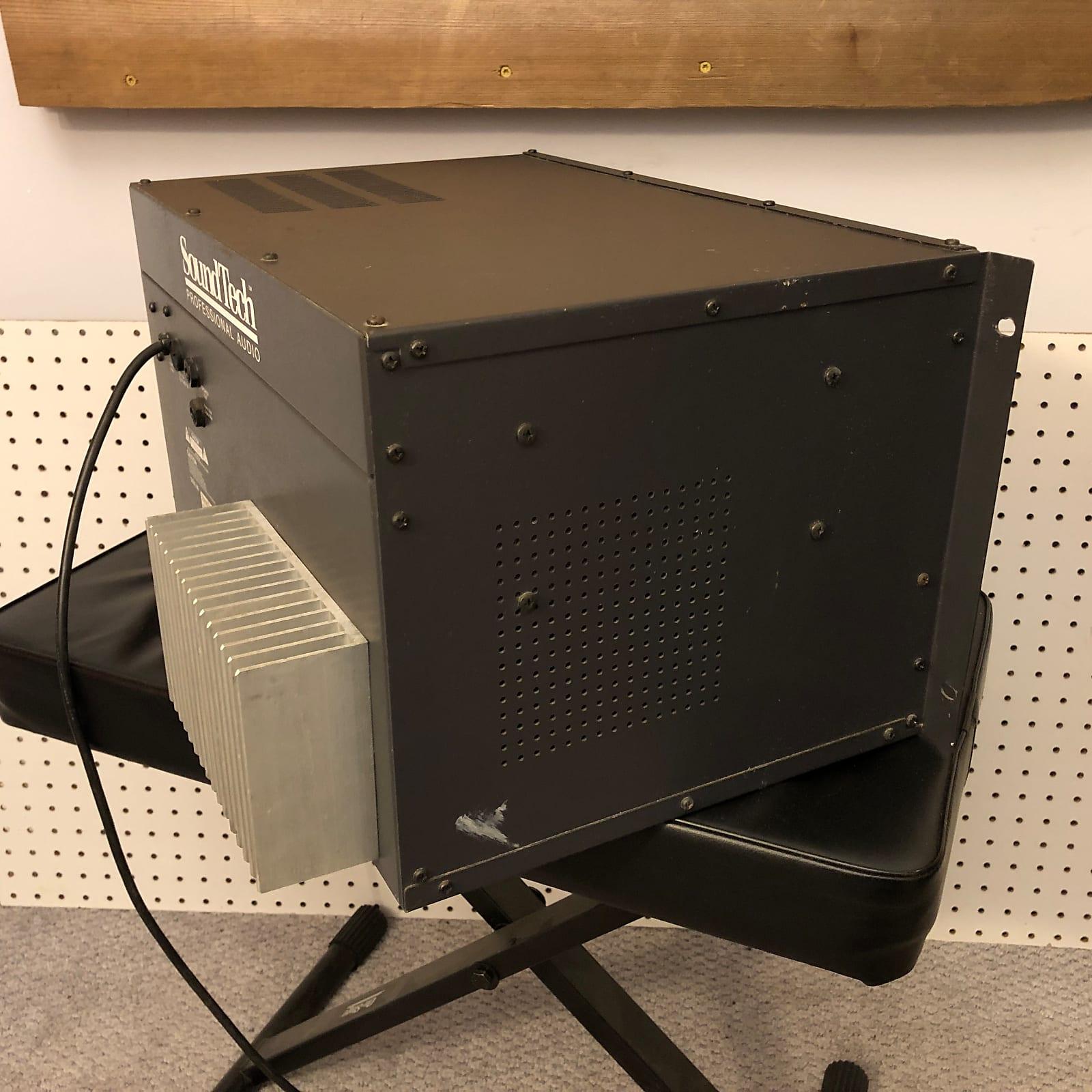 SoundTech M420 4-Channel Powered Mixer Rackmount
