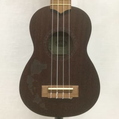 Kala KA-15S-H1 Hawaii Etched Soprano Ukulele Customer Return