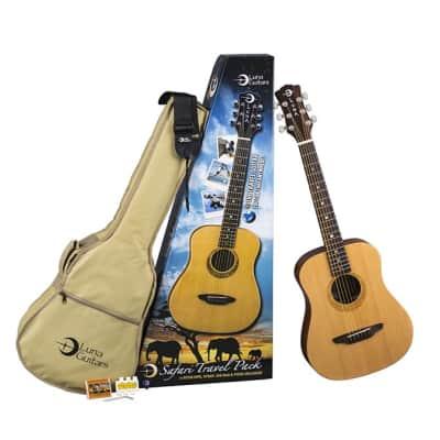 Luna Safari Muse Travel Guitar Pack for sale