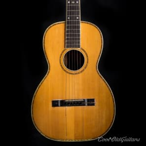 Vintage Early 1900's Lyon and Healy Lakeside Acoustic Guitar for sale