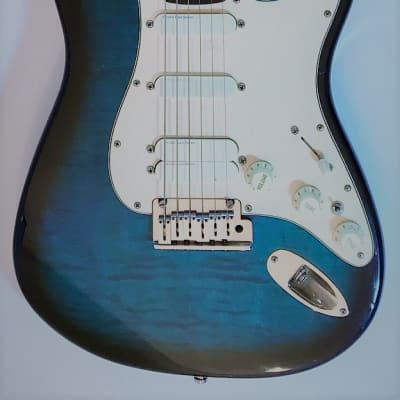 Fender Strat Plus Ultra 1991 Blue Burst for sale