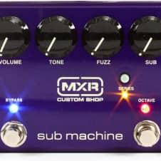 MXR Sub Machine Octave Fuzz Guitar Pedal