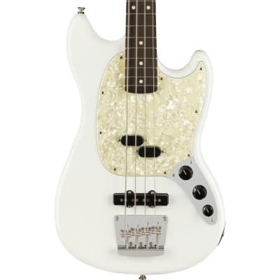 Fender American Performer Mustang Bass Rosewood Fingerboard Arctic White