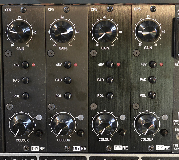 DIY Recording Equipment CP5 Preamps with 15ips Colour (4x)