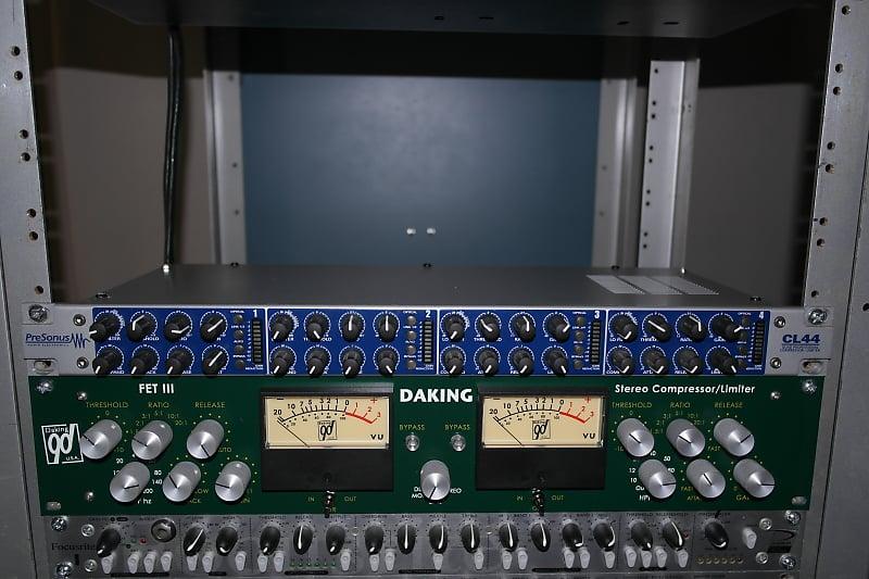 Presonus CL44 4 Channel Compressor Limiter High Pass Sidechain Filter