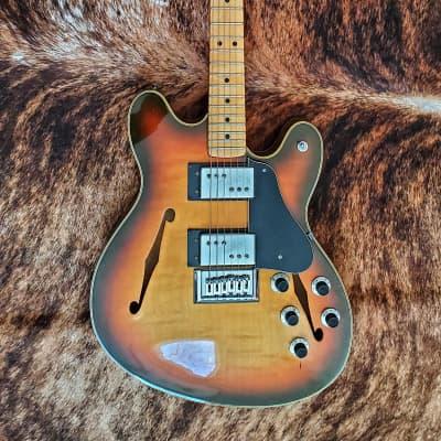 1974 Fender Starcaster in rare sunburst finish for sale