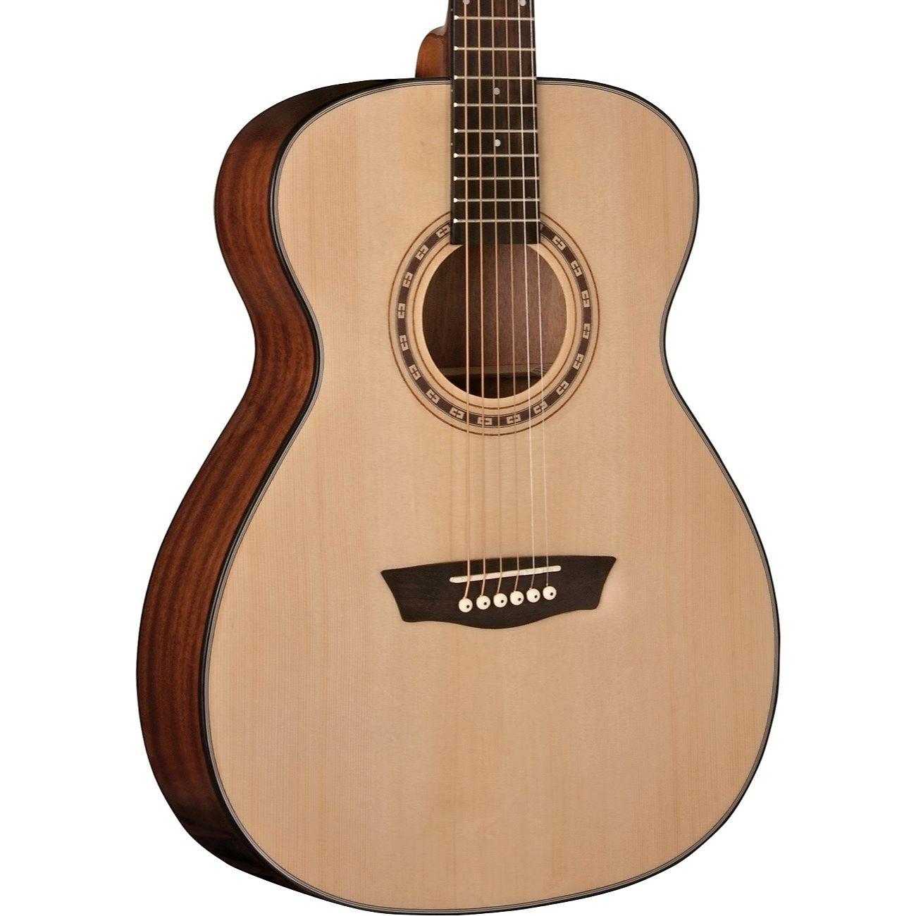 a7eee0b083 Washburn AF5K Apprentice 5 Series Folk Acoustic Guitar