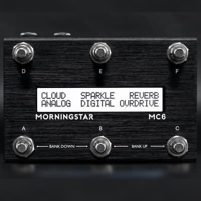 Morningstar | MC6 MK2 | Fully Programmable MIDI Controller