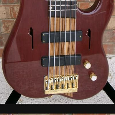 Linc Luthier 6 string bass for sale