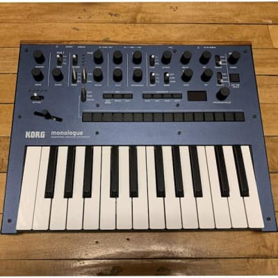 Korg Monologue Analogue Synthesizer Blue - Return