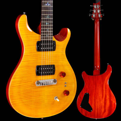 PRS Paul Reed Smith SE Paul's Guitar w/ Bag, Amber 528 6lbs 4.8oz for sale