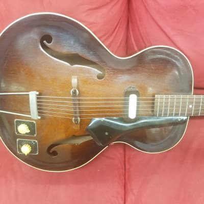 Epiphone Century Archtop Electric Hollowbody Guitar 1949 Vintage Sunburst