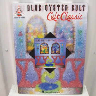 Blue Oyster Cult Clut Classic Sheet Music Song Book Songbook Guitar Tab Tablature